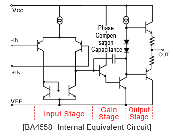 Ic 741 Internal Circuit Diagram | Opamp Internal Circuitry Simulation Car Block Wiring Diagram