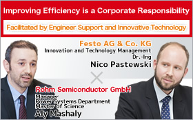 Improving Efficiency is a Corporate Responsibility Facilitated by Engineer Support and Innovative Technology