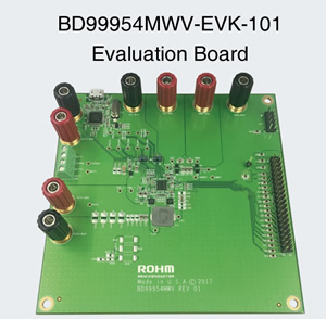 BD99954MWV-EVK-101 Evaluation Board