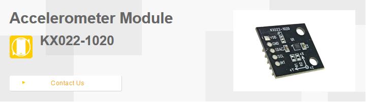 Accelerometer Module   ROHM Semiconductor - ROHM Co , Ltd