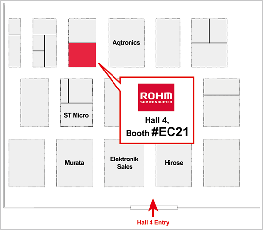 ROHM booth-location