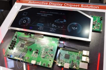 Automotive Display Chipset Solution