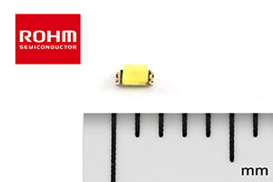 SMLD12WBN1W - ROHM's New High-Reliability 1608-Seiz White Chip LED