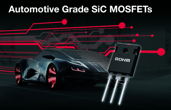 Automotive Grad SiC MOSFETs