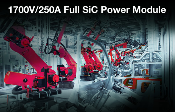 1700V/250A Full SiC Power Modules