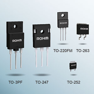 ROHM's New PrestoMOS™ Series of 600V Super Junction MOSFETs