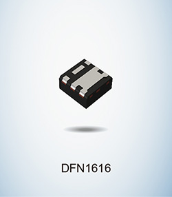 DFN1616-Ultra-compact automotive-grade MOSFETs