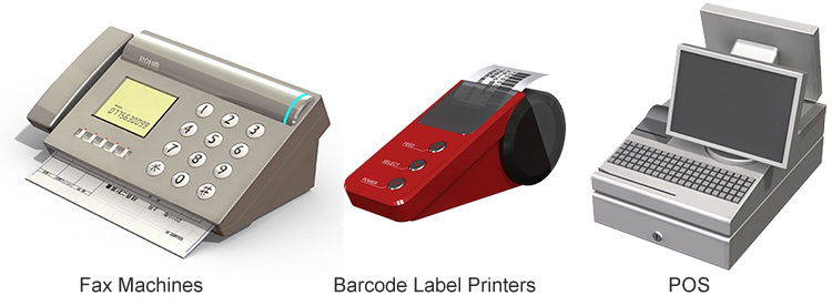 Fax Machines / Barcode Label Printers / POS