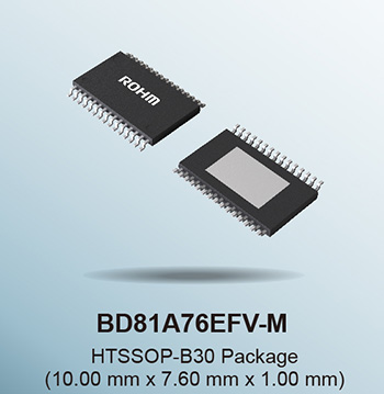 Automotive-Grade Backlight LED Driver-BD81A76EFV-M