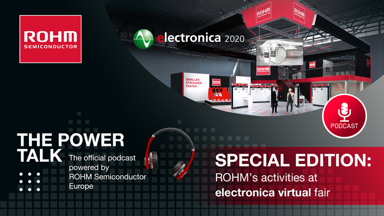 Special edition: ROHM's activities at electronica virtual fair