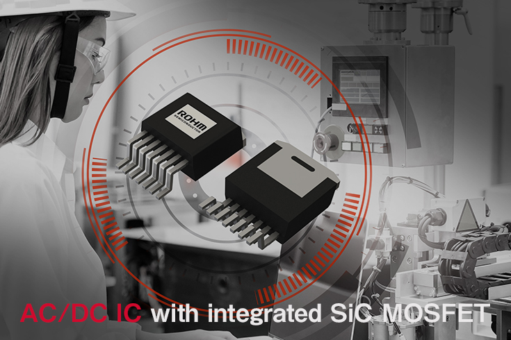 AC/DC IC with integrated SiC MOSFET