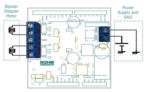 ROHM Stepper Motor Driver Shield for Arduino Platform | ROHM