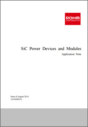 SiC Power Devices and Modules Application Note