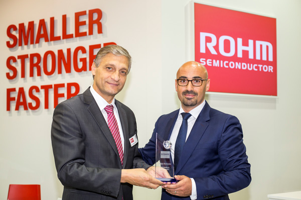ROHM Semiconductor awards Future Electronics as Distributor of the Year