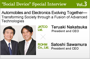 Automobiles and Electronics Evolving Together — Transforming Society through a Fusion of Advanced Technologies