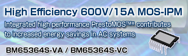 High Efficiency 600V/15A MOS-IPM