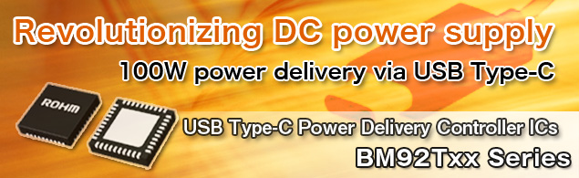 USB Type-C Power Delivery Controller ICs -BM92Txx Series-
