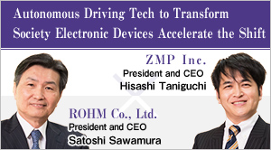 Autonomous Driving Tech to Transform Society Electronic Devices Accelerate the Shift