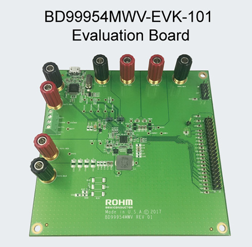 BD9995MWV-EVK-101 Evaluatino Board
