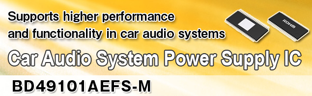 Car Audio System Power Supply IC BD49101AEFS-M