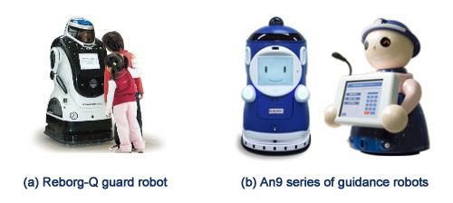 ALSOK销售的机器人