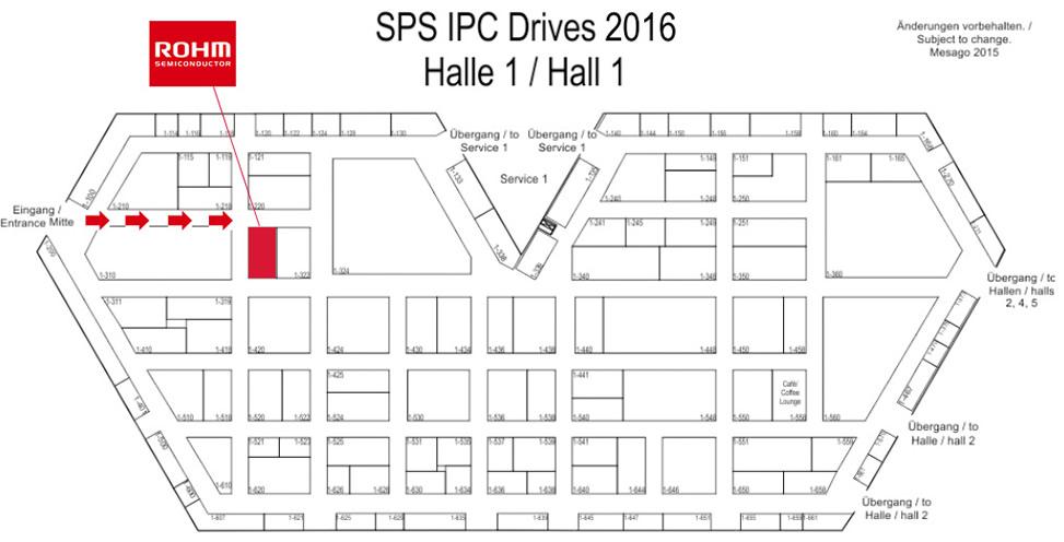 SPS IPC Drives2016 Halle1/Hall1