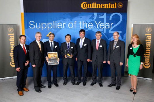 Supplier of the Year 2012