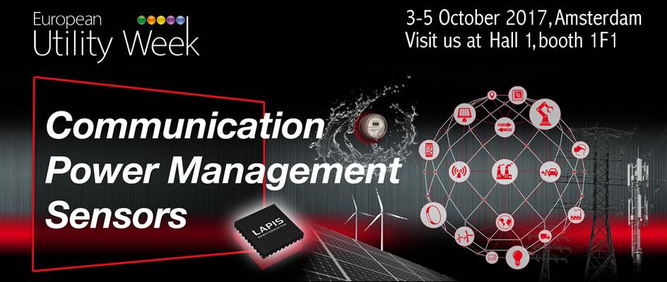 European Utility Week Communication Power Management Sensors
