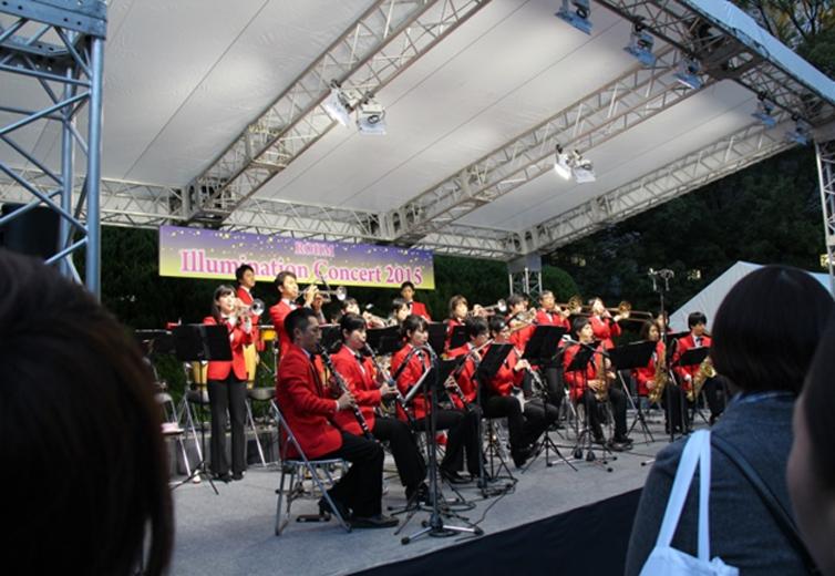 ローム シンフォニックバンドによるオープニングコンサート