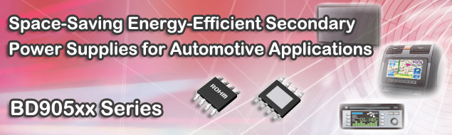 Secondary Power Supplies for Automotive Applications: BD905xx Series