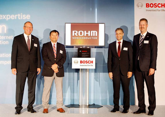 ROHM Semiconductor receives Bosch Supplier Award