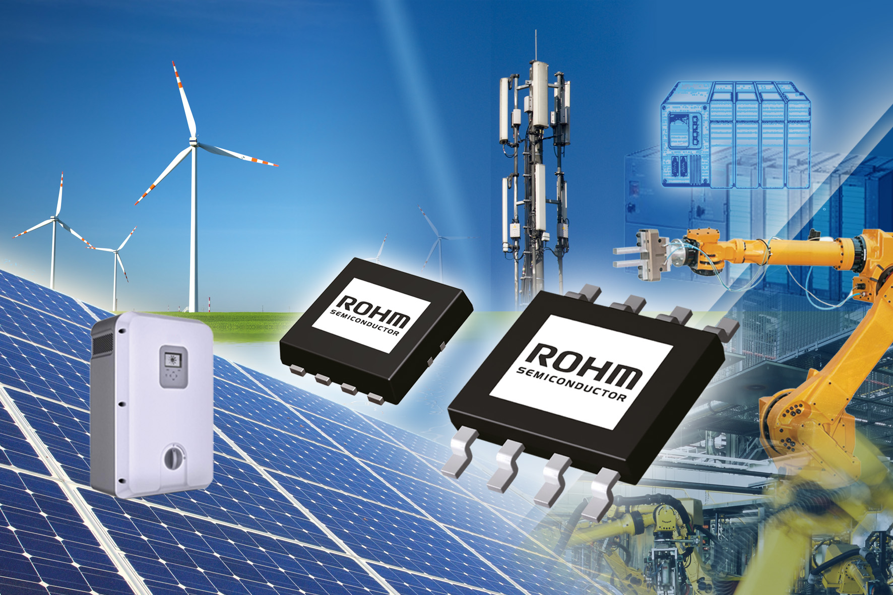 ROHM's Isolated Power Supply Control ICs BD7F Series
