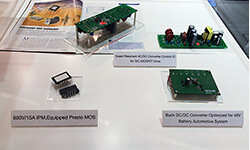 Power supply board using SiC-MOSFET