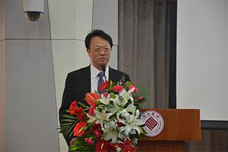清華大学副校長 王教授のご挨拶