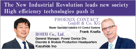 The New Industrial Revolution leads new society High efficiency technologies push it