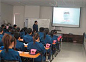 Training at ROHM Electronics Dalian co., Ltd