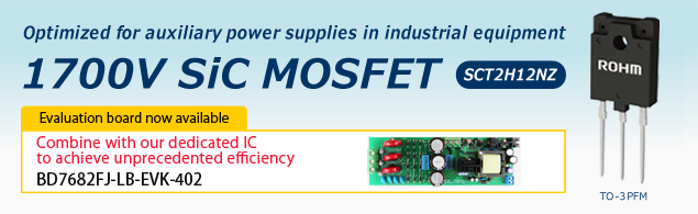 Optimized for auxiliary power supplies in industrial equipment