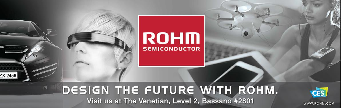 ROHM's Demo Room at CES 2017