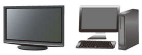 Applications LCD TVs and monitors