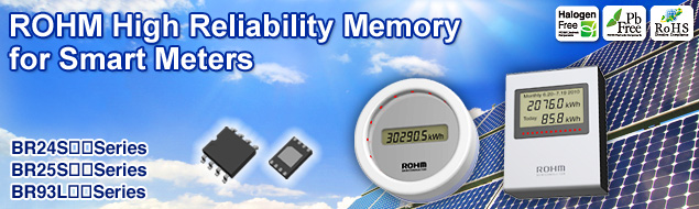 ROHM High Reliability Memory for Smart Meters